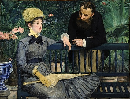 Edouard Manet, In the Conservatory (1879)