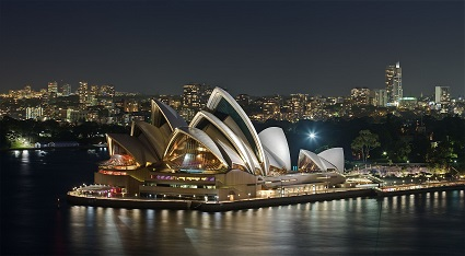 Wikipedia Commons image of the Sydney Opera House