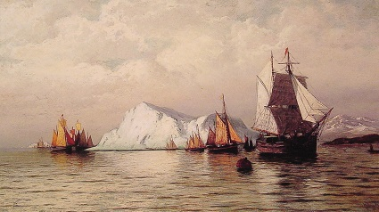 William Bradford (1823-1892), Arctic Caravan