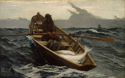 The Fog Warning, by Winslow Homer