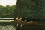 Thomas Eakins, The Oarsmen (1874)
