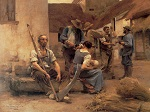 Leon Lhermitte - Paying the Harvesters (public domain)